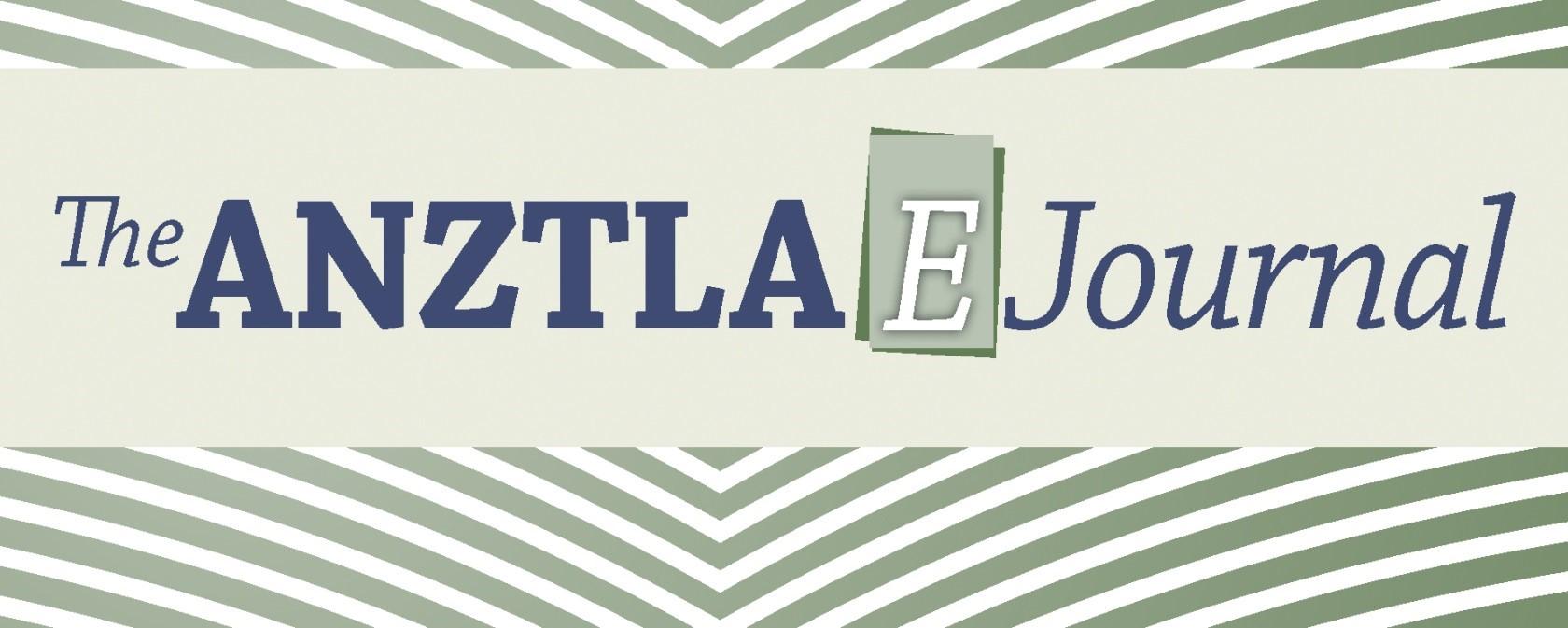 The ANZTLA EJournal logo